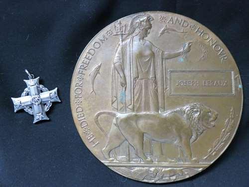 medal and plaque JLeroux 1 Copy